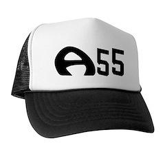 A55 Rocks! on Trucker Hat