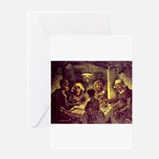 Van Gogh Potato Eaters Greeting Card