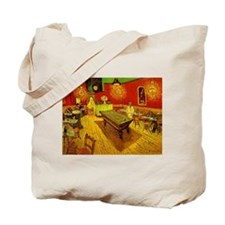 Night Cafe Tote Bag