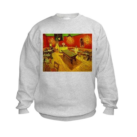 Night Cafe Kids Sweatshirt