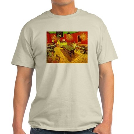 Night Cafe Light T-Shirt