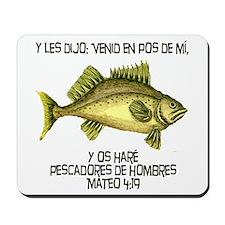 Matthew 4:19 Spanish Mousepad