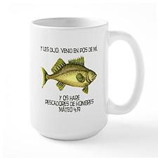 Matthew 4:19 Spanish Mug
