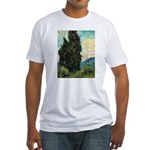 Cypress Tree Fitted T-Shirt