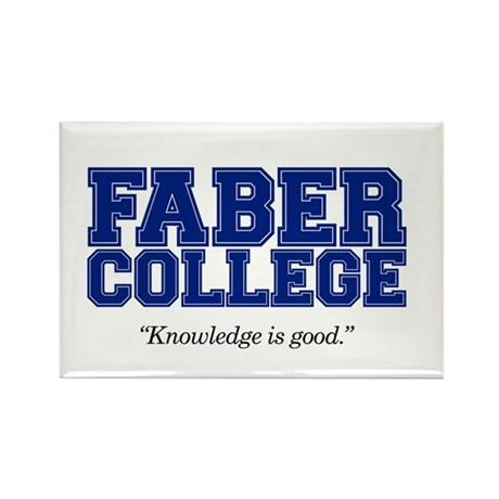 FABER COLLEGE - Rectangle Magnet