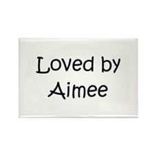 Cute Aimee Rectangle Magnet