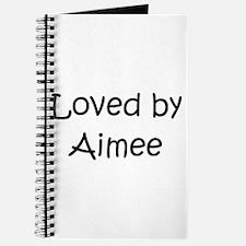 Cute Aimee Journal