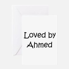 Funny Ahmed Greeting Card