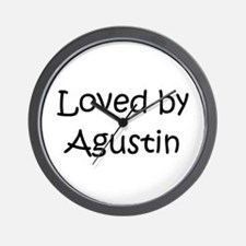 Cute Agustin Wall Clock