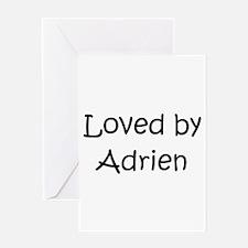 Funny Adrien Greeting Card
