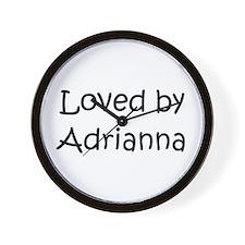 Funny Adrianna Wall Clock