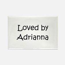 Cute Adrianna Rectangle Magnet