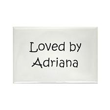 Cute Adriana Rectangle Magnet