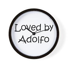Cute Adolfo Wall Clock
