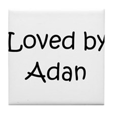 Cute Adan Tile Coaster