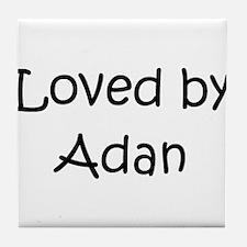 Cute Adan Tile Coaster