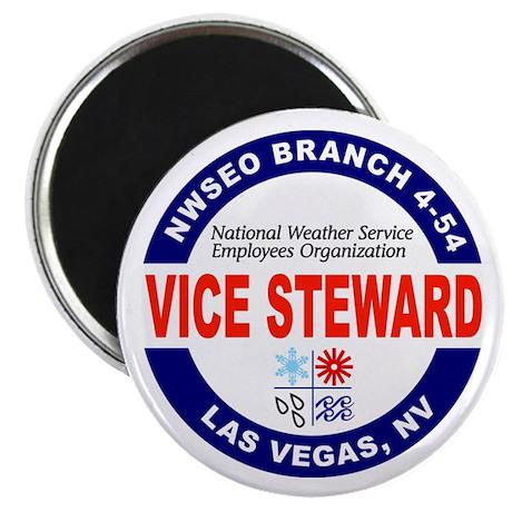 Las Vegas Vice Steward Magnet