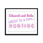 Edward and Bella... Framed Panel Print