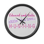 Edward and Bella... Large Wall Clock
