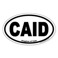 CAID Euro Oval Decal
