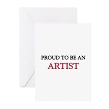 Proud To Be A ARTIST Greeting Cards (Pk of 10)