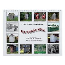 Outhouse Wall Calendar