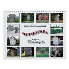 Outhouse Wall Calendar