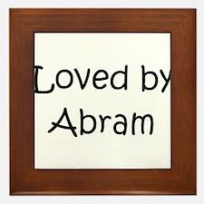 Unique Abram Framed Tile
