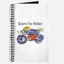 Child Art Born To Ride Journal