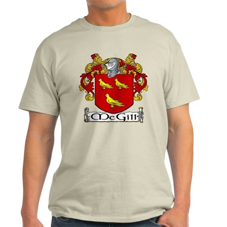 McGill Coat of Arms Light T-Shirt