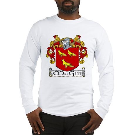 McGill Coat of Arms Long Sleeve T-Shirt