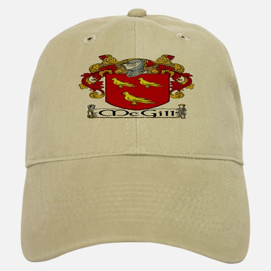 McGill Coat of Arms Baseball Baseball Baseball Cap