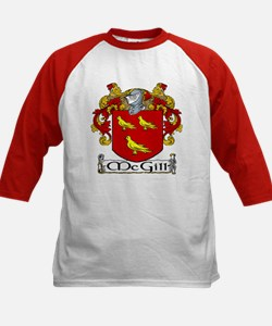 McGill Coat of Arms Kids Baseball Jersey