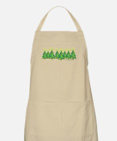 Christmas Forest Apron