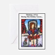 Greeting Cards (Pk of 10), Art by Anne K Abbott