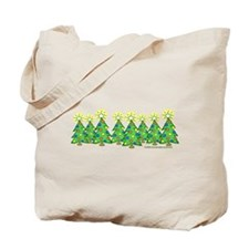 Christmas Forest Tote Bag