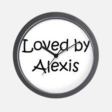Cute Alexis Wall Clock