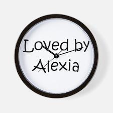 Cool Alexia Wall Clock