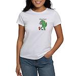 T-Rex Monster Child Art Women's T-Shirt