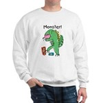 T-Rex Monster Child Art Sweatshirt