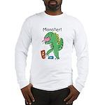 T-Rex Monster Child Art Long Sleeve T-Shirt