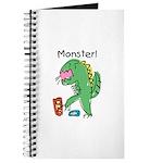 T-Rex Monster Child Art Journal