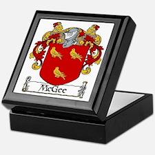McGee Coat of Arms Keepsake Box