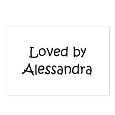 Cute Alessandra Postcards (Package of 8)