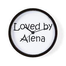 Unique Alena Wall Clock