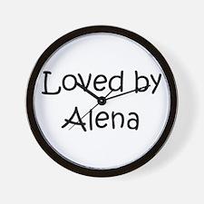 Cute Alena Wall Clock