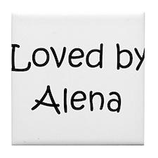 Cute Alena Tile Coaster