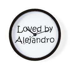 Cute Alejandro Wall Clock