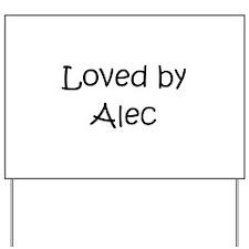 Unique Alec Yard Sign