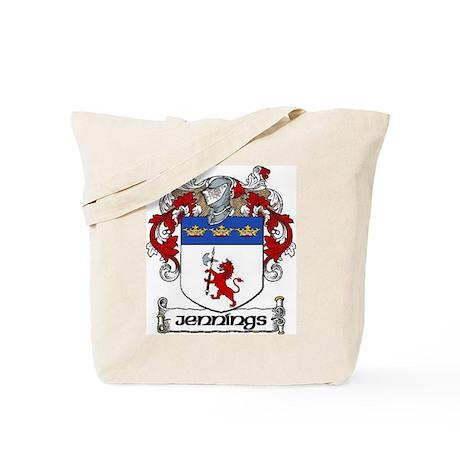 Jennings Coat of Arms Tote Bag